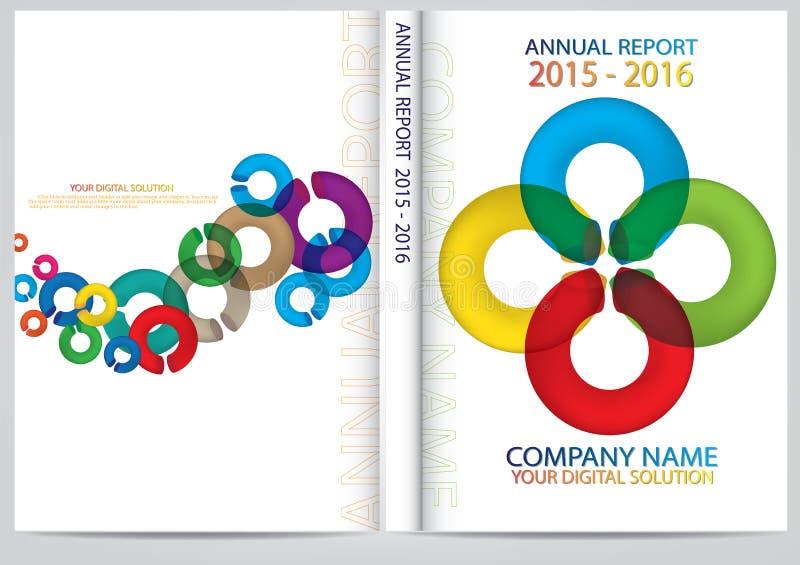 Download Progettazione Della Copertura Del Rapporto Annuale Illustrazione Vettoriale - Illustrazione di disegno, elegante: 56885501