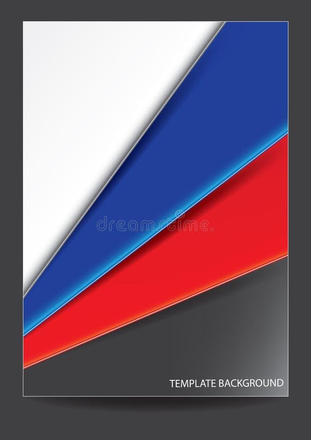 Download Progettazione Della Copertura Dell'opuscolo Del Modello Illustrazione Vettoriale - Illustrazione di libro, documento: 56883798