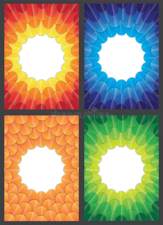 Download Progettazione Della Copertura Rapporto Del Modello Illustrazione di Stock - Illustrazione di scomparto, background: 56883684