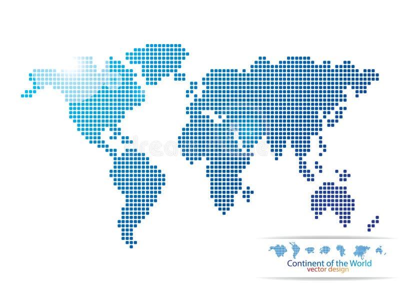 Download Progettazione Della Mappa Di Mondo Illustrazione Vettoriale - Illustrazione di puntini, estratto: 56882716