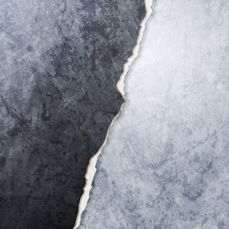 Progettazione della parete rotta lerciume astratto di vettore royalty illustrazione gratis