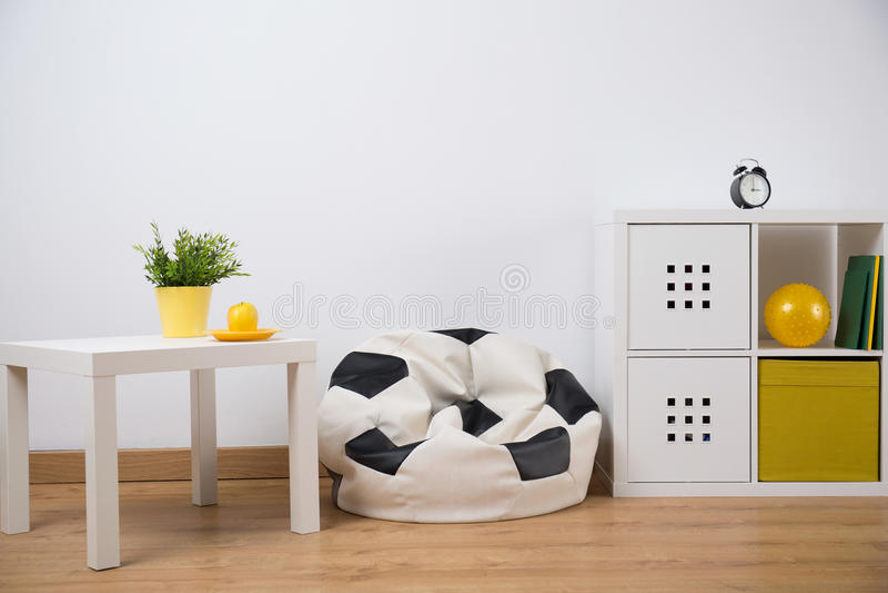 Progettazione della stanza dell'adolescente immagini stock