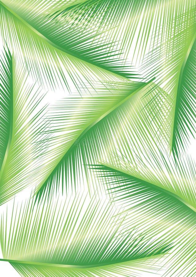 Progettazione delle foglie di palma immagine stock