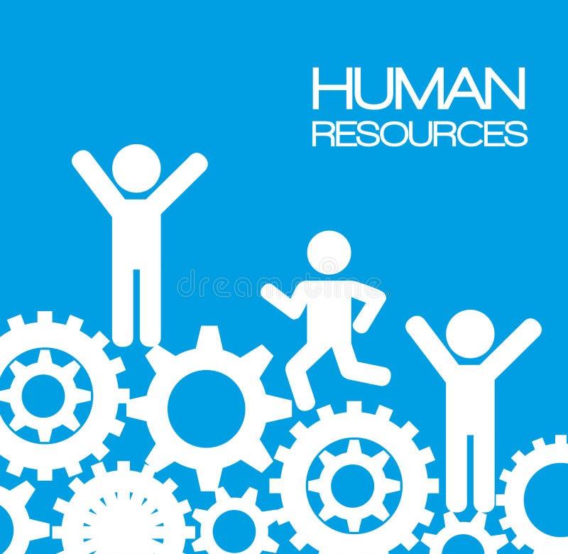Progettazione delle risorse umane royalty illustrazione gratis