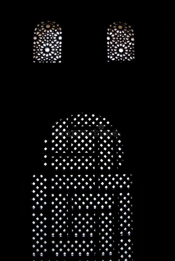 Progettazione di Arabesque a Alhambra immagine stock