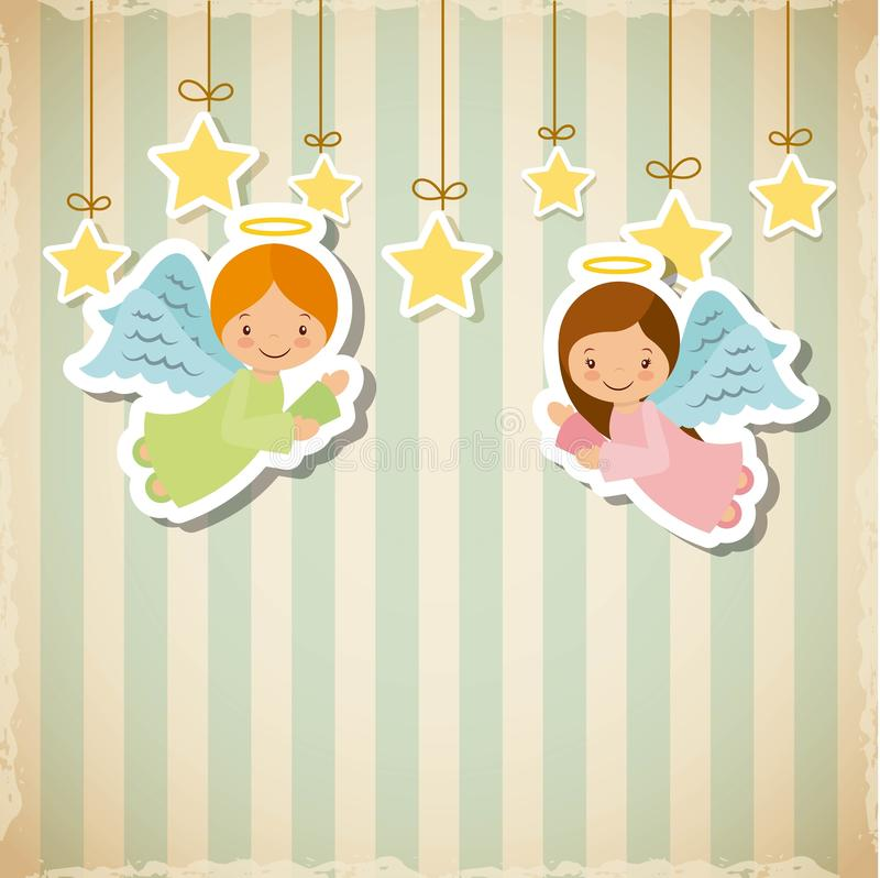 Progettazione di Buon Natale royalty illustrazione gratis