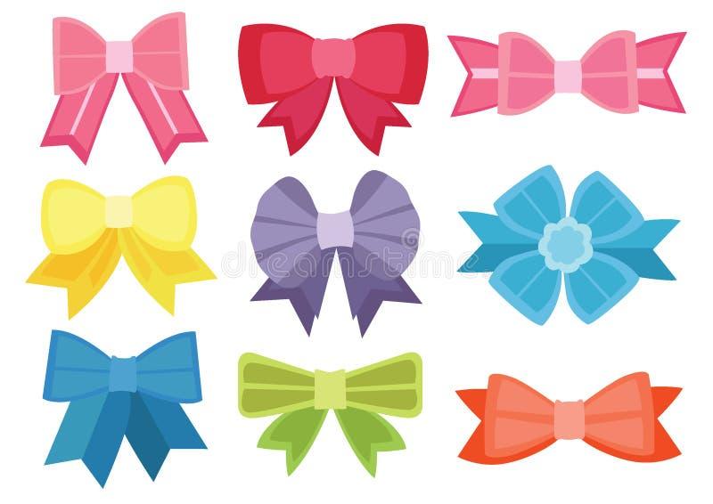 Progettazione di colore dell'arco ed arco multicolore variopinti ed arco multicolore variopinto illustrazione vettoriale