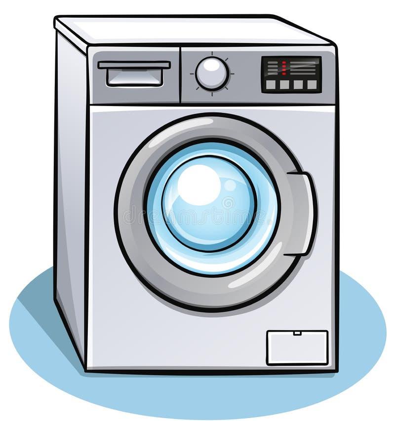 Progettazione di colore della lavatrice di vettore fotografia stock