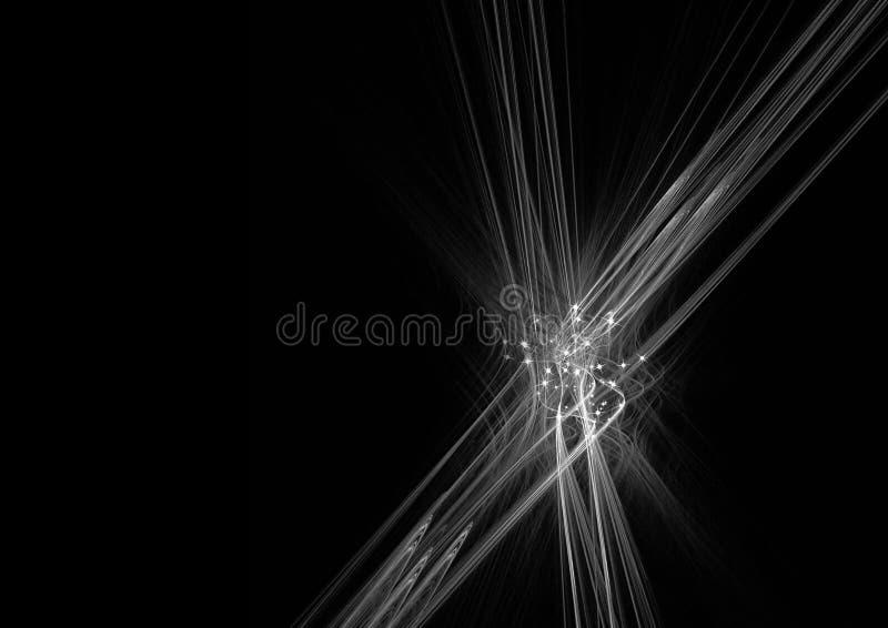 Progettazione di computer grafica astratta fotografie stock