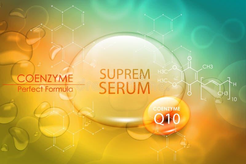 Progettazione di cura di pelle di nutrizione di trattamento di bellezza Concetto di vettore per il web e la stampa illustrazione di stock