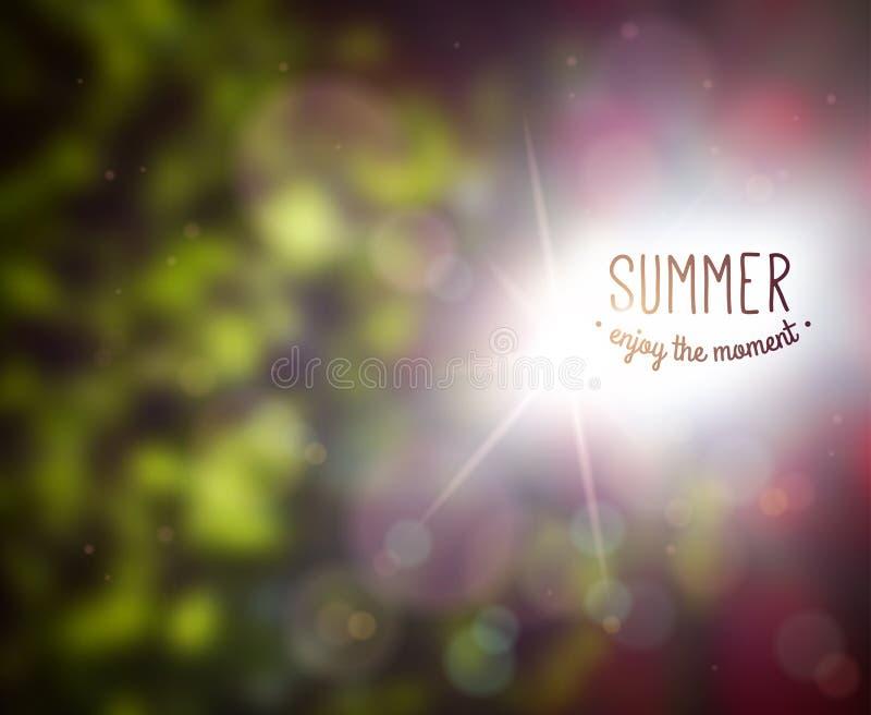 Progettazione di estate illustrazione vettoriale