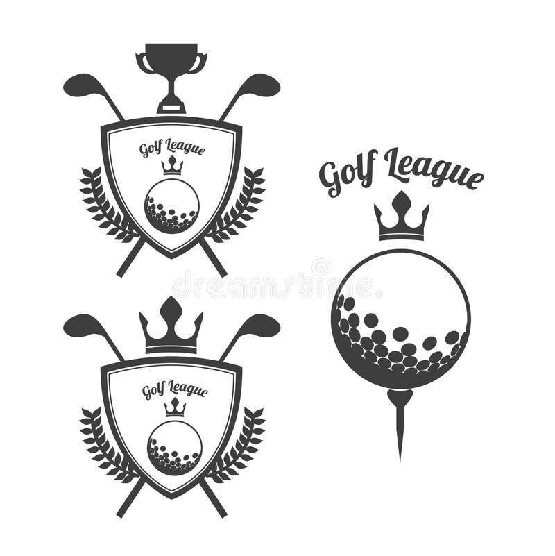 Progettazione di golf royalty illustrazione gratis