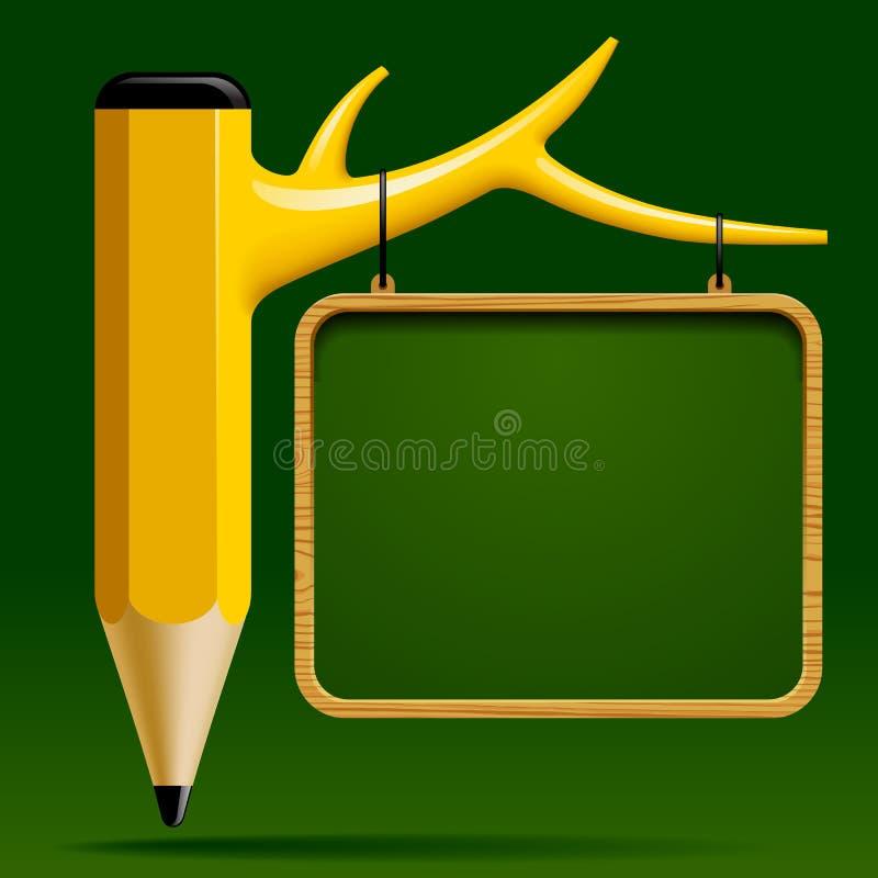 Progettazione di istruzione illustrazione di stock