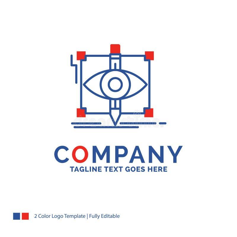 Progettazione di Logo Design For di nome di società, progetto, schizzo, schizzante, v royalty illustrazione gratis