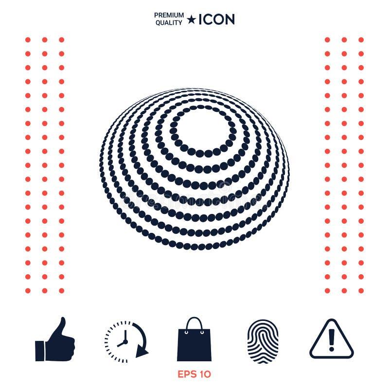 Download Progettazione Di Logo - Simbolo Della Terra Illustrazione Vettoriale - Illustrazione di pianeta, concetto: 117975824