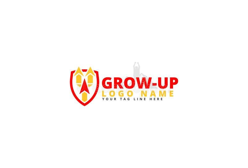 Progettazione di logo di vettore illustrazione di stock