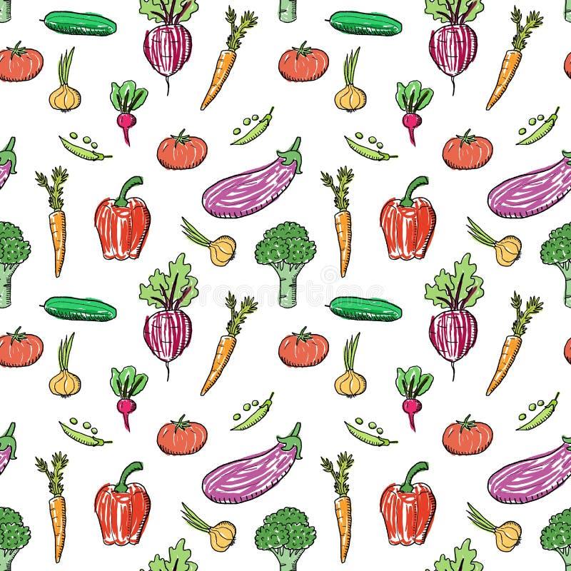 Progettazione di modo delle verdure illustrazione di stock