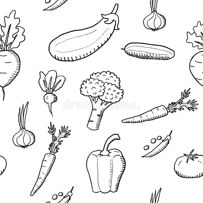 Progettazione di modo delle verdure royalty illustrazione gratis