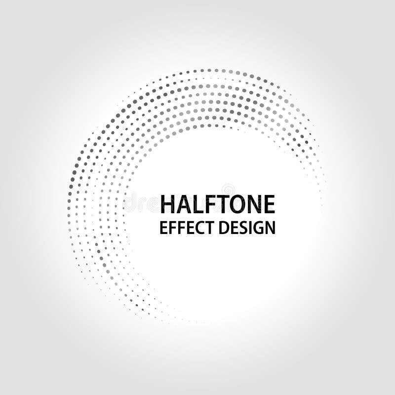 Progettazione di semitono di effetto per il vettore ENV 10 immagine stock