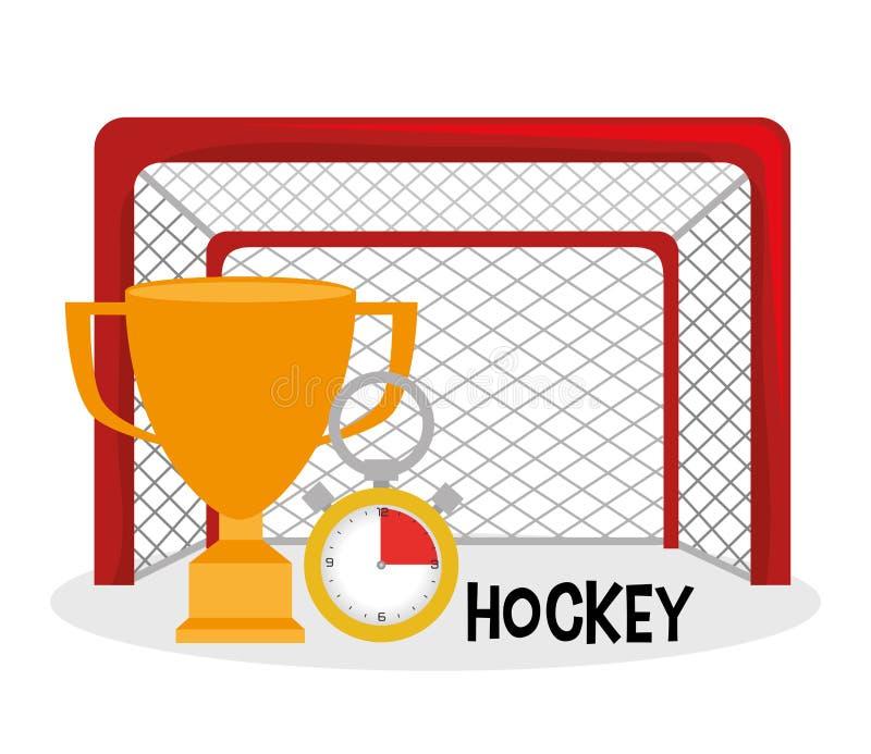 Progettazione di sport dell'hockey royalty illustrazione gratis