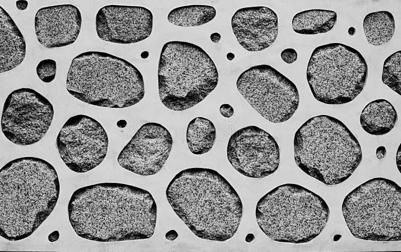 Progettazione di struttura della parete di pietra fotografia stock libera da diritti
