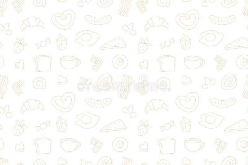 Progettazione di tempo del caffè illustrazione di stock