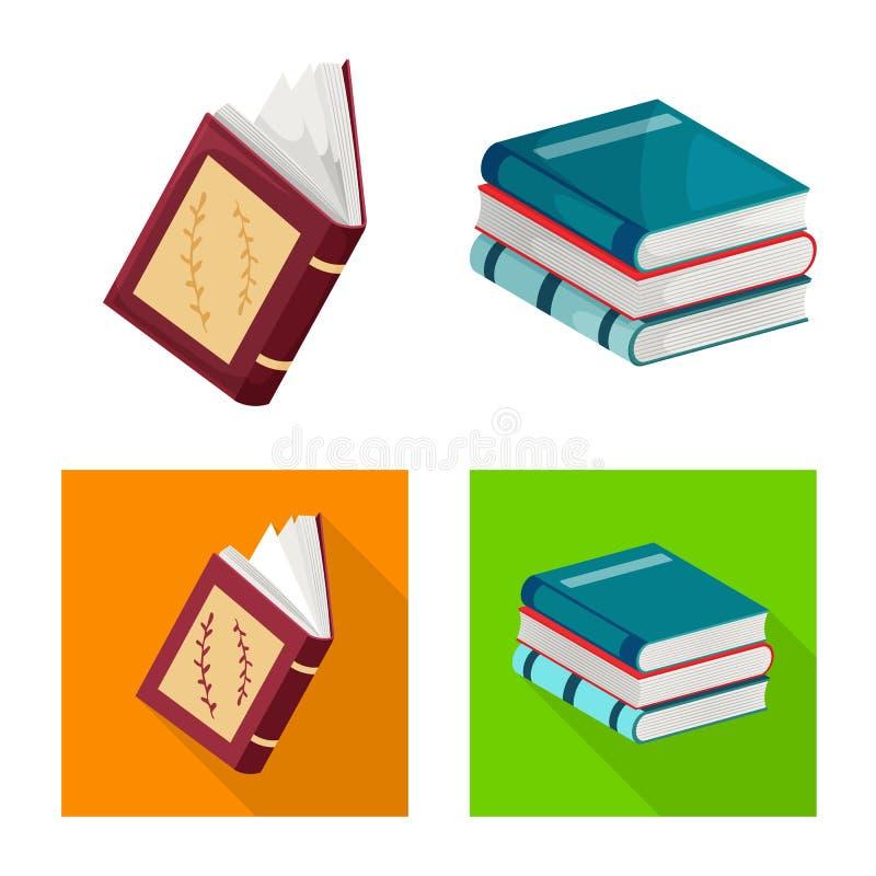 Progettazione di vettore del logo della copertura e di addestramento Raccolta di addestramento e del simbolo di riserva della lib illustrazione vettoriale