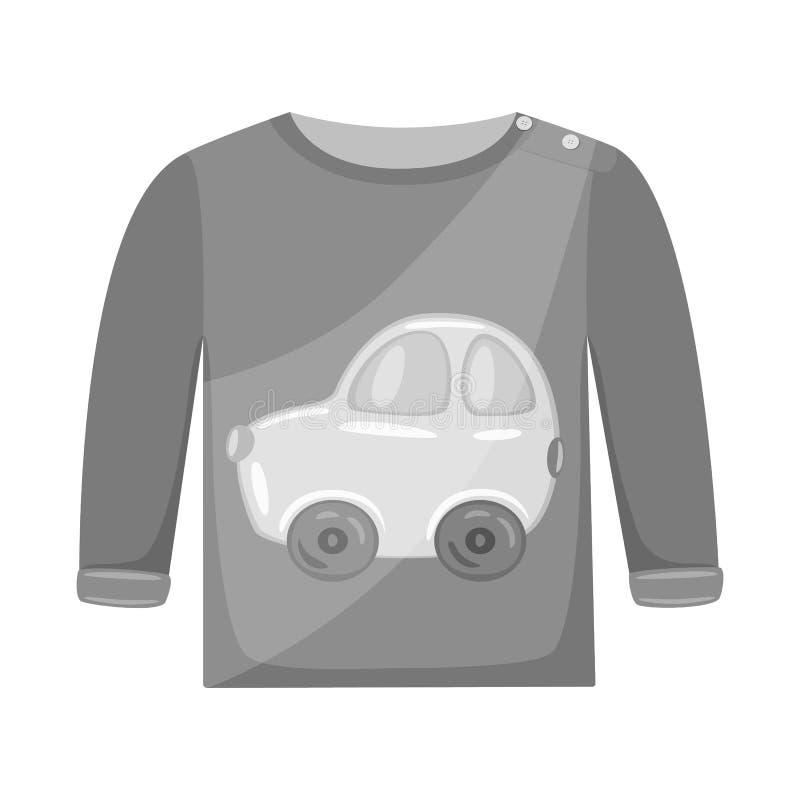 Progettazione di vettore del logo del panciotto e del raglan Raccolta dell'icona di vettore dei ragazzi e del raglan per le azion illustrazione vettoriale