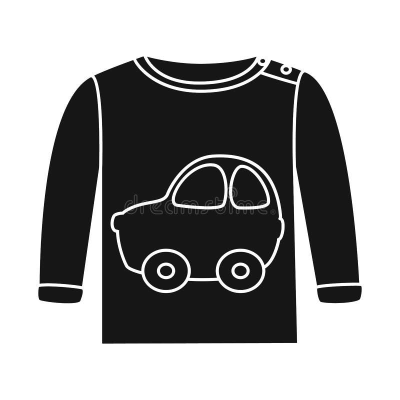 Progettazione di vettore del logo del panciotto e del raglan Raccolta del simbolo di riserva dei ragazzi e del raglan per il web illustrazione di stock