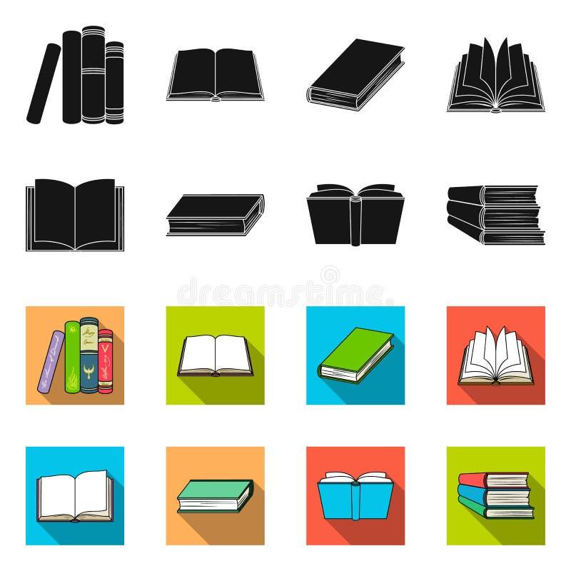 Progettazione di vettore dell'icona del manuale e delle biblioteche Metta dell'icona di vettore della scuola e delle biblioteche  royalty illustrazione gratis