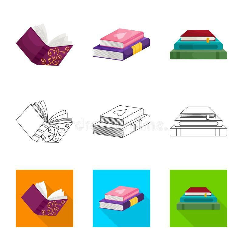 Progettazione di vettore dell'icona della copertura e di addestramento Metta di addestramento e dell'icona di vettore della libre illustrazione di stock