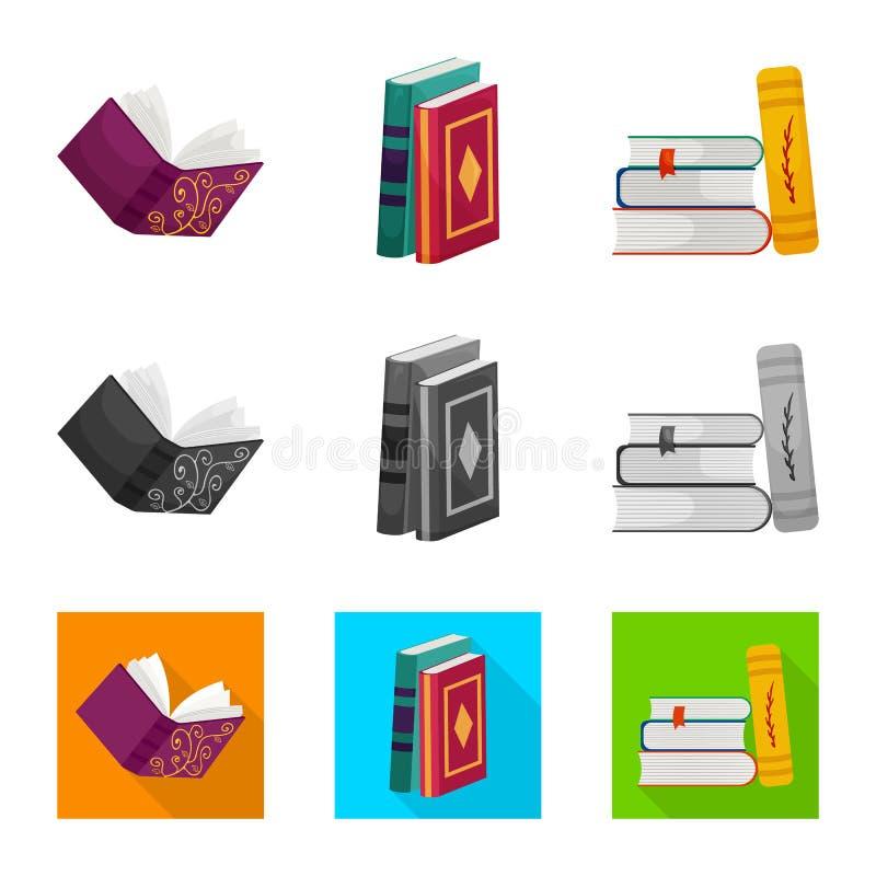 Progettazione di vettore dell'icona della copertura e di addestramento Raccolta di addestramento e dell'illustrazione di vettore  royalty illustrazione gratis
