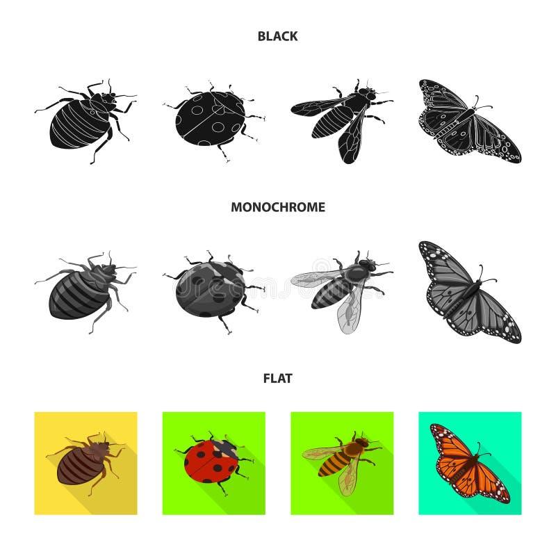 Progettazione di vettore dell'icona della fauna selvatica e della natura Raccolta dell'illustrazione di vettore delle azione dell royalty illustrazione gratis