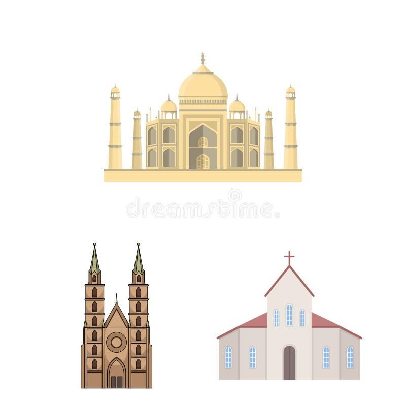 Progettazione di vettore dell'icona di nozze e di religione Metta della religione e dell'illustrazione di vettore delle azione de illustrazione di stock