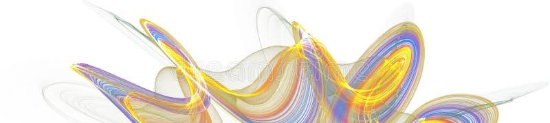 Progettazione digitale di arte grafica dell'insegna su fondo bianco illustrazione vettoriale