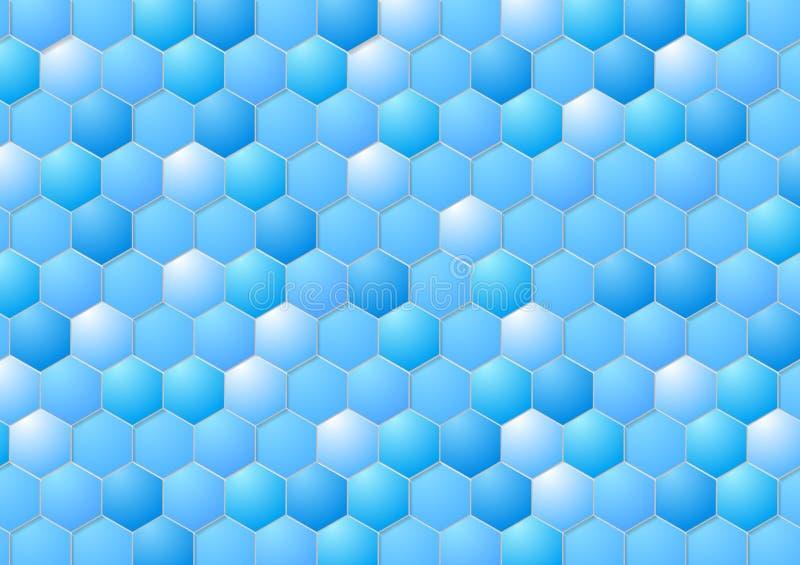 Progettazione geometrica astratta di vettore illustrazione di stock