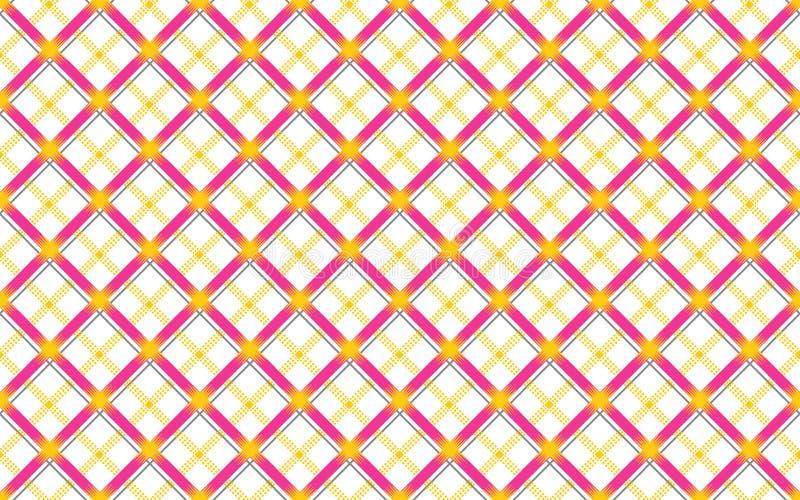 Progettazione geometrica senza cuciture della camicia dei controlli illustrazione vettoriale