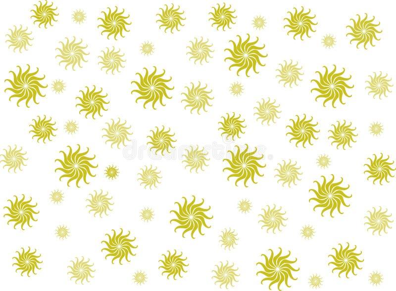 Progettazione gialla del fiore fotografia stock