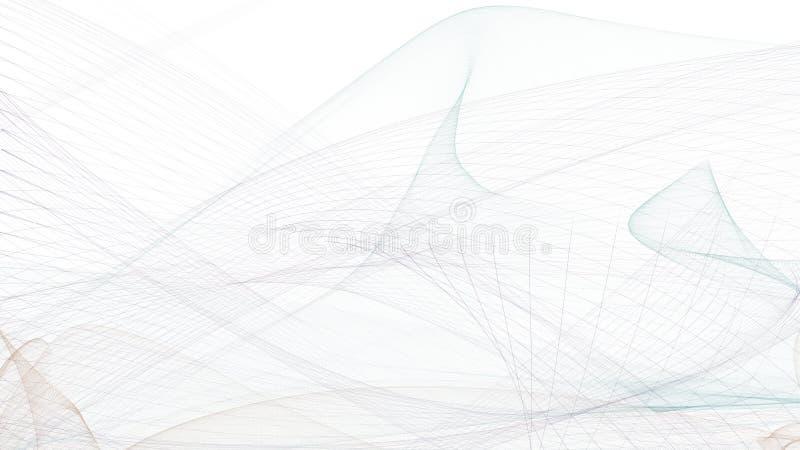 Progettazione grafica di Digital su fondo bianco royalty illustrazione gratis