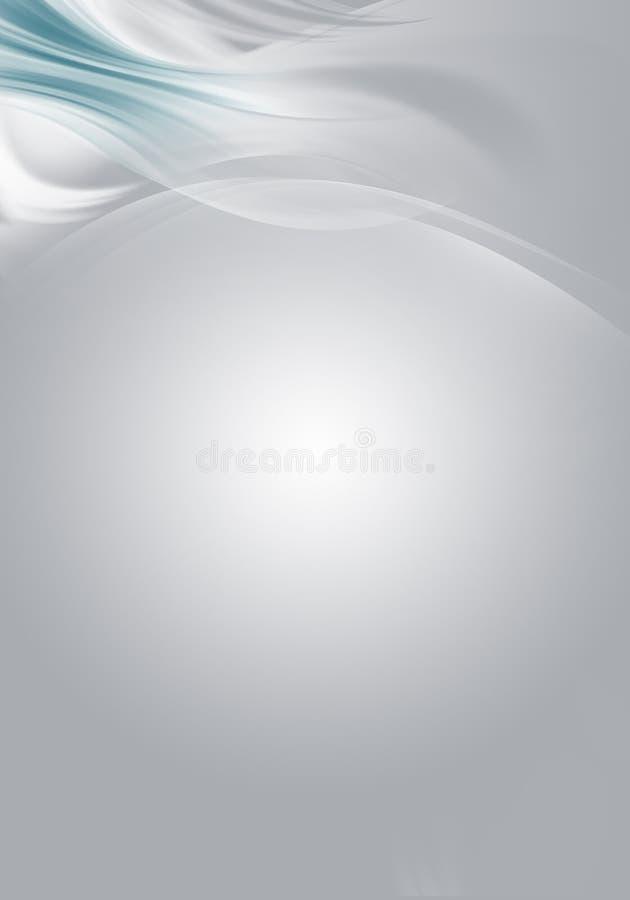 Progettazione grigia luminosa astratta elegante del fondo illustrazione di stock