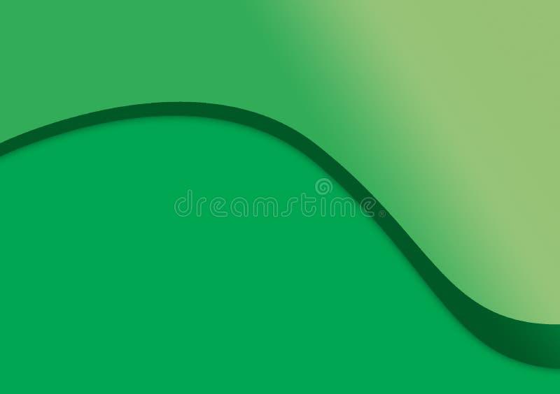 Progettazione lineare del fondo di curvatura del fondo illustrazione di stock