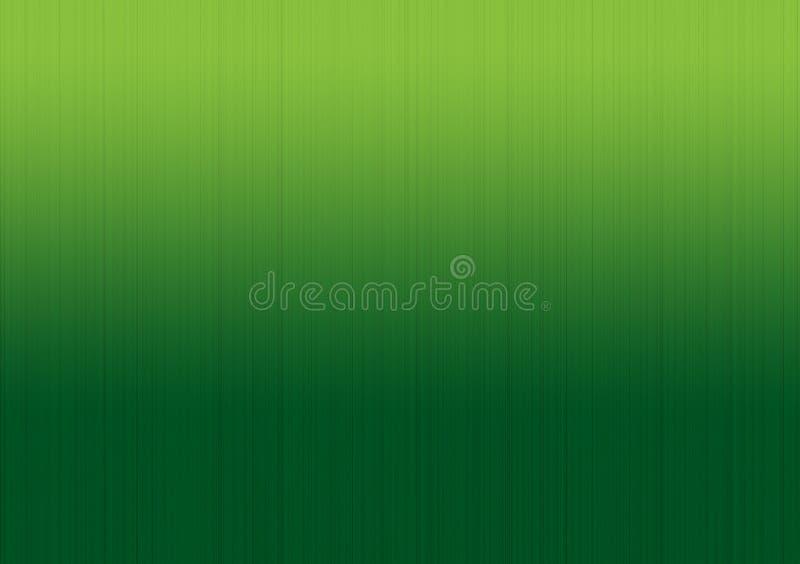Progettazione lineare della carta da parati del fondo di pendenza verde royalty illustrazione gratis