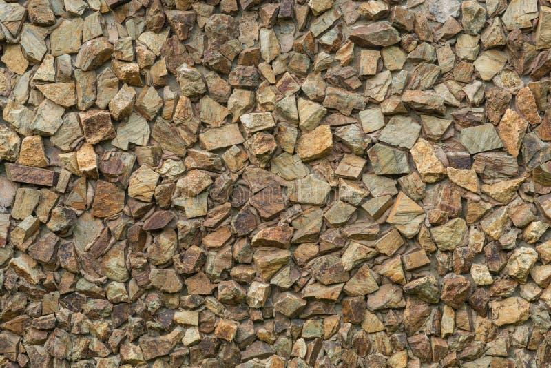 Progettazione moderna decorativa, parete di pietra di stile immagini stock libere da diritti