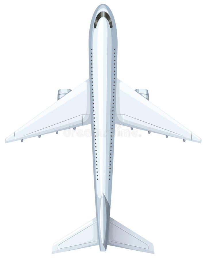 Progettazione moderna dell'aeroplano illustrazione vettoriale