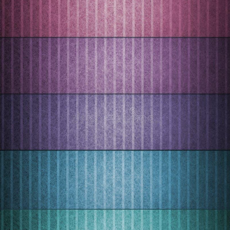 Progettazione multicolore astratta del modello del fondo della linea fresca per le linee verticali di uso di arte grafica, struttu illustrazione di stock
