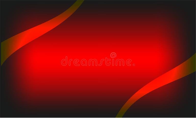 Progettazione nera e rossa astratta di webside di struttura del fondo della carta da parati royalty illustrazione gratis