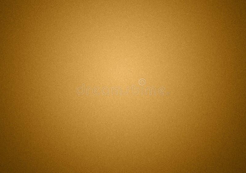 Progettazione normale del fondo di struttura di pendenza dell'oro fotografia stock libera da diritti