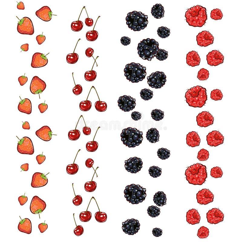 Progettazione organica del menu del caff? di vettore dell'indicatore dell'alimento disegnato a mano di eco Nastri con l'illustraz royalty illustrazione gratis