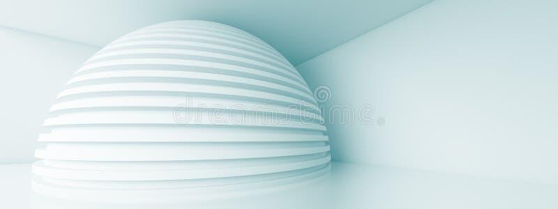 Progettazione panoramica di architettura royalty illustrazione gratis
