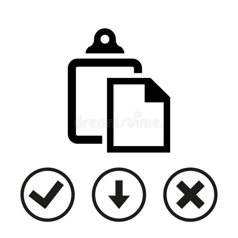 Progettazione piana dell'illustrazione di vettore delle azione dell'icona della pasta illustrazione vettoriale